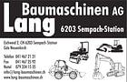Lang Baumaschinen AG