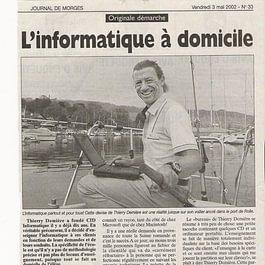 Thierry Demière, informaticien et hypnothérapeute