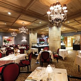 Le Grand Restaurant Gstaad Palace