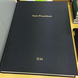 Basler Wunschbuch 2014