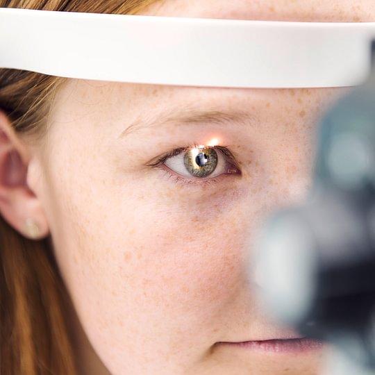 Kontaktlinsen Optometrie