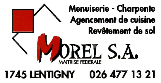 Morel SA Menuiserie et charpente