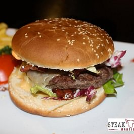 Steak House Martigny Burger Valaisan