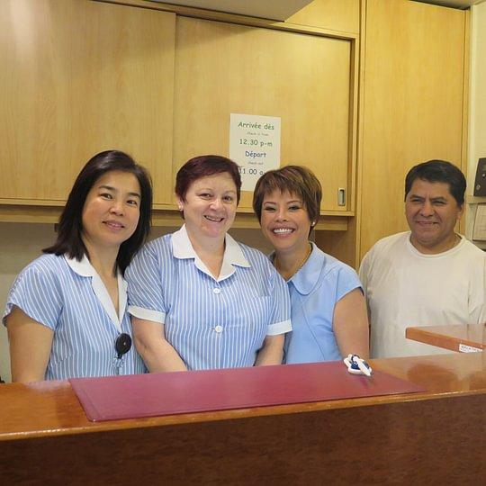 Equipe de l'Hotel Carmen