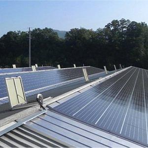 Dachintegrierte Solarstrom Anlage, Arlesheim