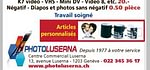 Transfer Cassettes Mini Dv,Video 8, super 8 sur DVD
