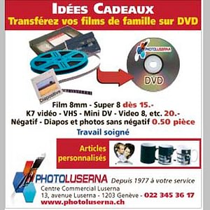 Transfert Cassettes Mini Dv, Video 8, Super 8
