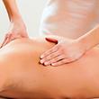 Physiotherapie am Rücken
