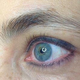 Maquillage permanent des sourcils 2 AVANT