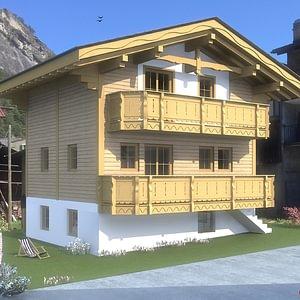 Projet de villa familiale à Sembrancher