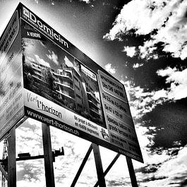 Publicity Shop - Panneau de chantier