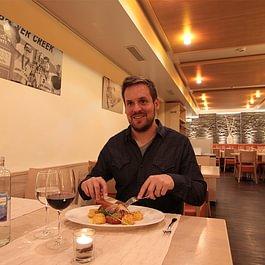 Speisesaal Restaurant des alpes Fiesch