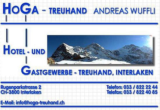 Treuhandbüro Hoga Treuhand Andreas Wuffli Interlaken Berner Oberland