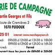 Boucherie de Campagne GEORGES MARTIN & FILS