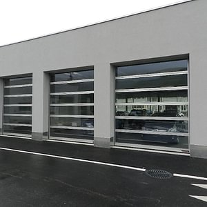 Portes sectionelles Hoermann verre ALR Glazing