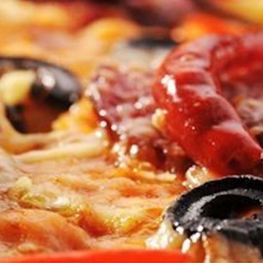 aromatische Pizzaauswahl mit 40 Sorten