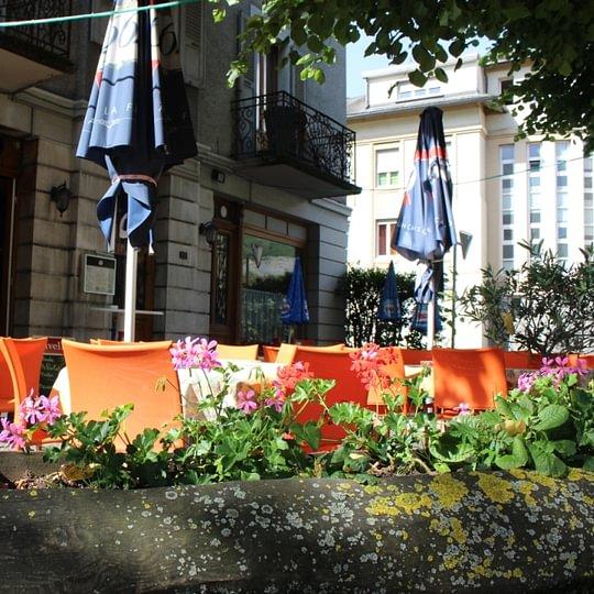 Le Thovex - Terrasse avant