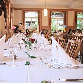 Restaurant-Speisesaal