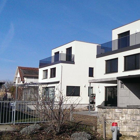 2 freistehende Einfamilienhäuser Aesch