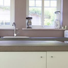 Küchenabdeckung aus Sandstein