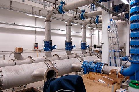 Wasserversorgungen und Kläranlagen