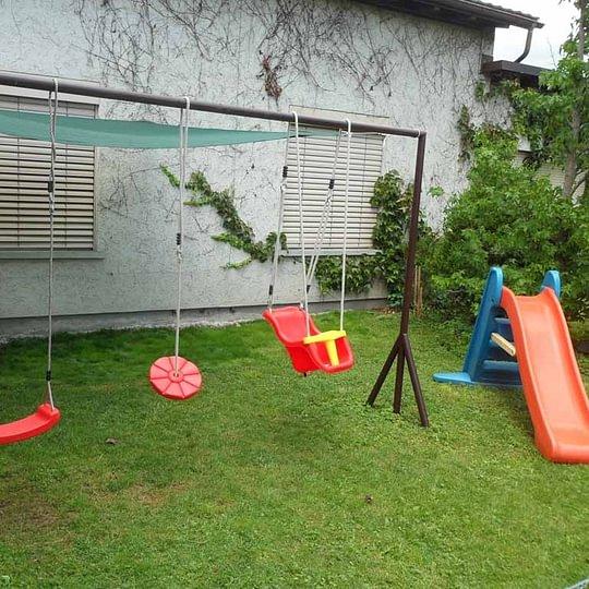 Unser Gartenspielplatz
