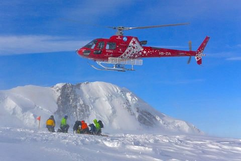 Heliskiing in Zermatt und Italy