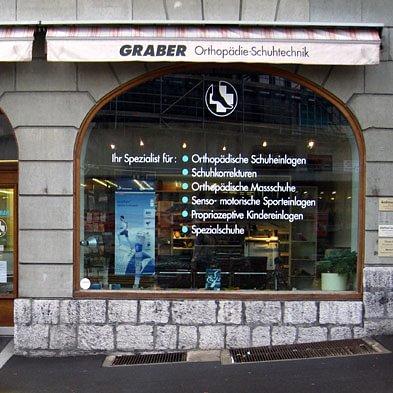 GRABER Orthotech Geschäft in Thun