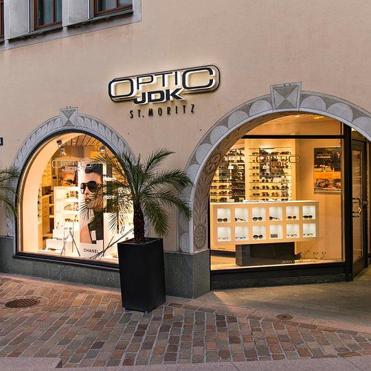 JDK Optic - Augenoptiker - St. Moritz - 15 Jahre Jubiläum im Zentrum von St. Moritz