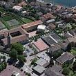 Il Collegio Papio dall'alto, nel Borgo di Ascona