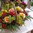 corbielle de fleurs prix 60.- à 120.-