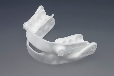 Orthèse d'avancée mandibulaire Apnée de sommeil et ronflement