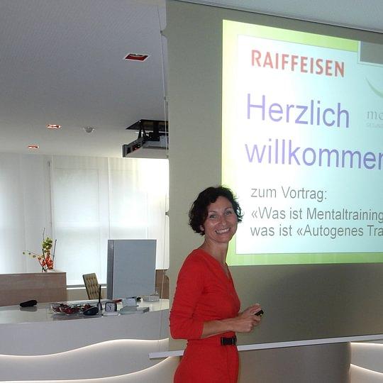 Vortrag Raiffeisenbank Wängi