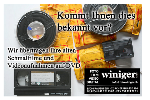 Video & Schmalfilm auf DVD