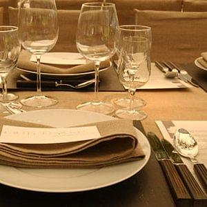 l'Art de la table sur commande et à vos désirs