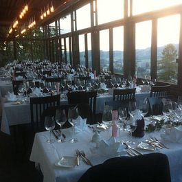 Restaurant Falkenburg, St. Gallen - Falkenburg Wintergarten