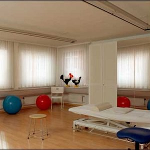 Helle und grosse Behandlungszimmer