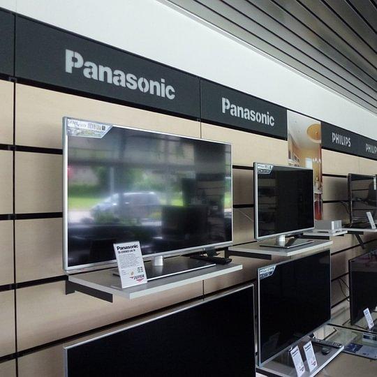 Unser TV-Bereich mit Panasonic, Philips, Sony, Metz
