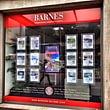 Publicity Shop - Vitrine d'agence immobilière BARNES