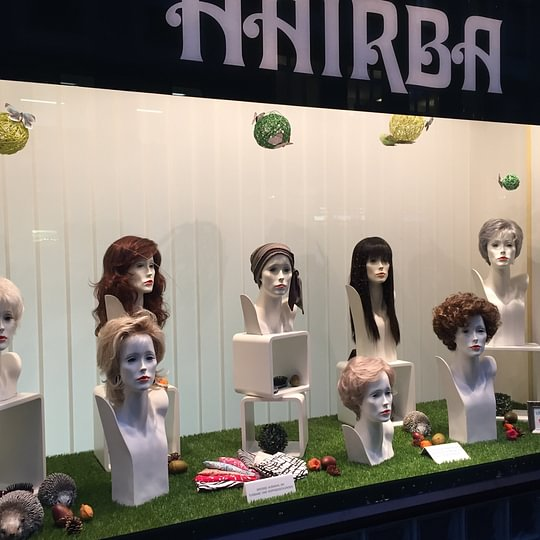 Hairba Schaufenster