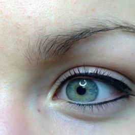 Maquillage permanent des yeux APRES