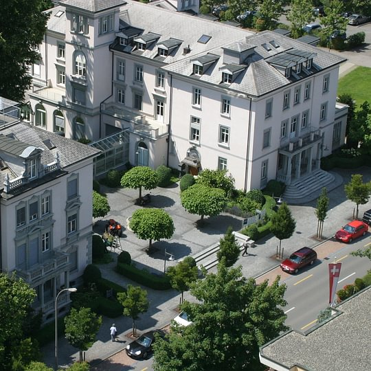 Villa Bellevue in der Hauptstrasse 14