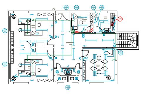 Planung während des Rohbau für Multiroom / Multimedia Anlagen