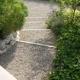 Escalier extérieur, exemple de réalisation