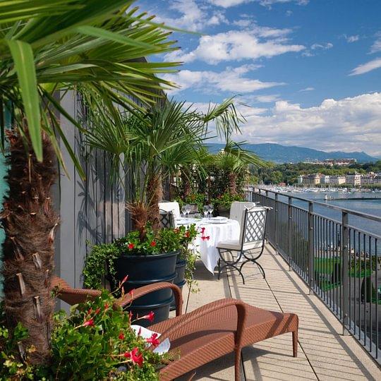 Royale Armleder Suite (terrace) - Le Richemond