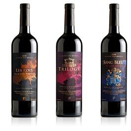 """Création d'étiquettes de vin """"Cave des Rois"""""""