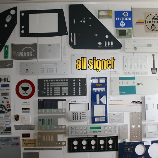 all-signet AG, Diepoldsau - Schilder