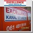Excellence Kanalservice AG Ablaufreinigung