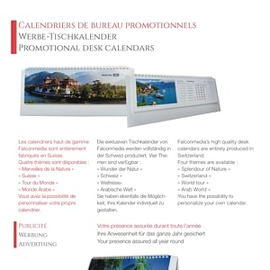 Brochure calendriers et articles promotionnels