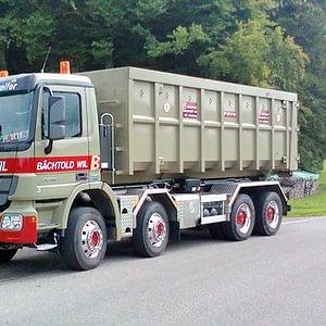 Mulden- und Containertransporte